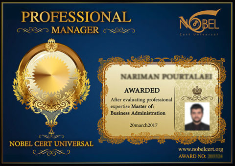 NOBEL Professional Manager Certificate